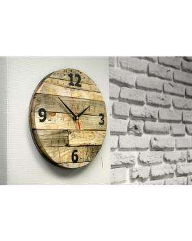"Часы настенные для барбершопа ""Edmond"""